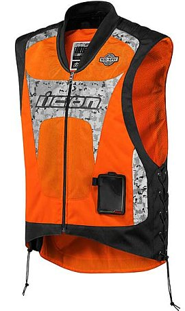 Here's where you can get your own Icon reflective vest