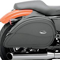 Leather saddlebags come in classic and modern styles