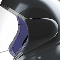 Helmet faceshield pivot mechanism cover