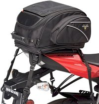 You can find a tail bag for most any motorcycle...