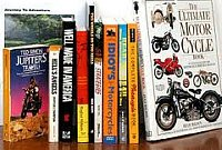 Motorcycle books help your to keep riding when you're off  your bike