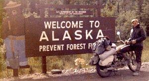 Welcome to Alaska along the ALCAN