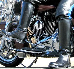 Looking for motorcycle boots?  Click here for a great place to find boots that are right for you.