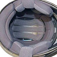 Comfortable helmet interior lining
