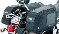 Soft saddlebags are made to suit all motorcycles