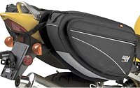 Soft motorcycle saddlebags are tough and versatile