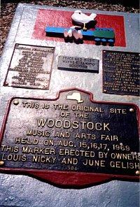 The Woodstock monument