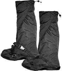 Motorcycle rain boot covers