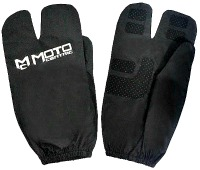 Motorcycle rain glove covers