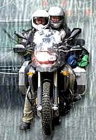 Click here for a complete selection of motorcycle rain gear and other rider gear that suits you best...