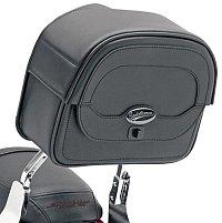 A small sissy bar bag keeps your gear handy