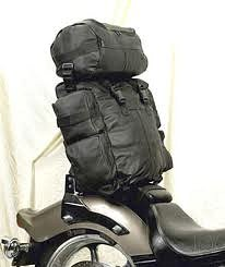 Looking for a sissy bar bag?  Click here for a great place to find a sissy bar bag that's right for your motorcycle and for the way you ride.