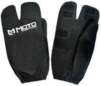 Motorcycle rain glove covers